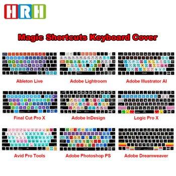 HRH Ableton Live Avid Pro Tools-teclado funcional de corte Final Pro X...