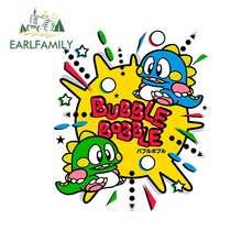 EARLFAMILY-pegatinas de burbujas para coche, accesorios de calcomanía de oclusión, decoración de arañazos para JDM, SUV, RV, 13cm x 10,8 cm