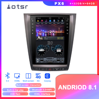 Tesla Styel Android 8.1 Car DVD player GPS Navigation For Lexus GS300 GS350 GS450 GS460 2004 2011 auto stereo multimedia screen