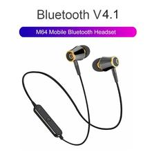 N64 Wireless Bluetooth Earphone Super Bass Headphones Sports Headset w/Mic