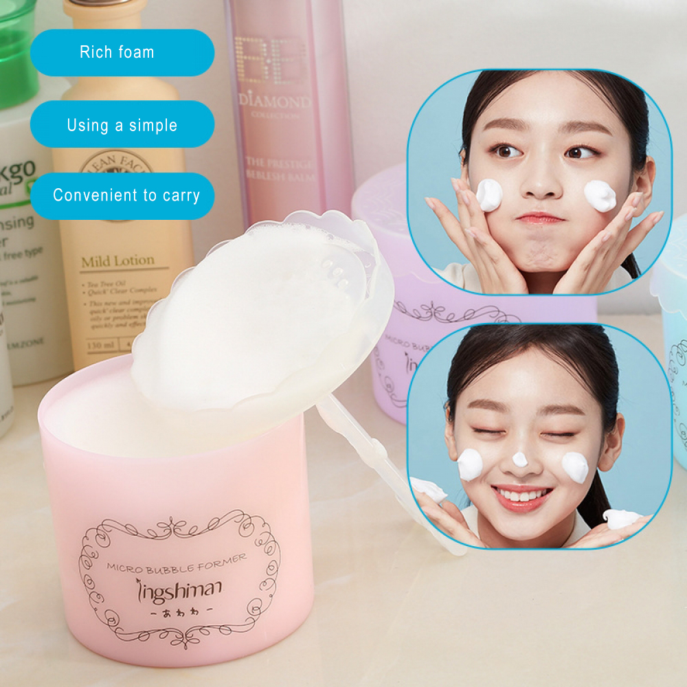 Foam Cup Fashion Unisex Beauty Facial Cleaning Foam Device Cup Whipped Bottle Tool Cleanser Foam Cup