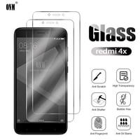 2Pcs Redmi 4X Gehärtetem Glas Für Xiaomi Redmi 4 Screen Protector Für Xiaomi Redmi 4X Schutz Glas Film