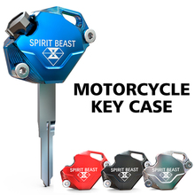 SPIRIT BEAST Motorcycle Key Cover Case Shell Scooter Accessories CNC Aluminum for SUZUKI Yamaha spirit beast motorcycle key cover case shell scooter aluminum for suzuki yamaha cygnus z cygnus x bws honda x 150 kymco