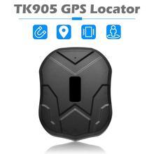 цена на Hot Sale GPS Tracker Classic Delicate TK905 GPS Tracker 5000mAh 2G Car Vehicle GPS Locator Waterproof Tracking Device