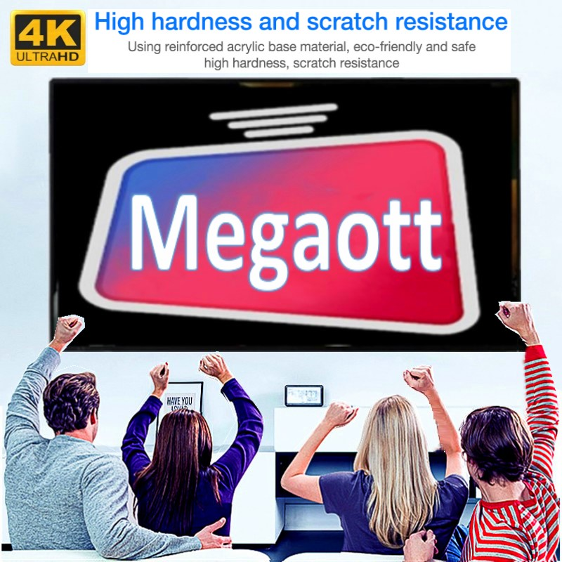 Megaott android tv screen protector for smart tv PC smart phone linux with hot sale xxx in Saudi Arabic German Dutch Belgium