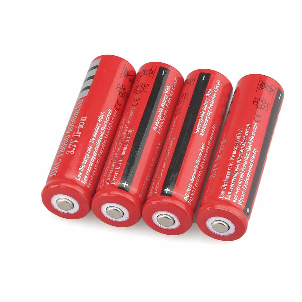 12v battery ups 12vLi-ion Rechargeable 18650 Batteries 3.7V 4000AMH  4PCS аккумулятор  rechargeable battery 4v 2019 hot sale