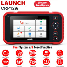 Launch X431 CRP129i OBD2 Car Diagnostic Tool Engine Oil TPMS SRS Gearbox OBDii Code Reader Automotive  Scanner Free Update