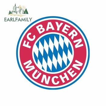EARLFAMILY 13cm X 13cm For Bundesliga Bayern Munich Personality Creative Stickers Vinyl Car Sticker Waterproof Car Decoration