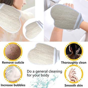 New Natural Loofah Washing Pad Bath Show Brushe Bath Shower Sponge Body Washing Scrubber Exfoliator Body Care Tools Accessories 2