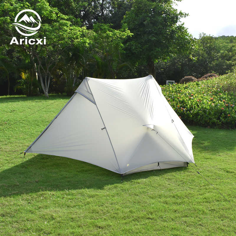 Aricxi light 2 Outdoor Ultralight namiot kempingowy 2 osoby profesjonalny namiot sztoku 15D Silnylon