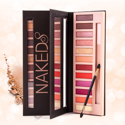 12 colors Matte Nude Professional Makeup Eyeshadow Palette Nake Smoky Glitter Make Up Shimmer Eye Shadow Maquillage Cosmetics