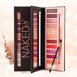 Палетка матовых нюдовых профессиональных теней для макияжа, тени для век с дымчатым блеском, косметика, 12 цветов