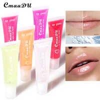 Bálsamo labial transparente puro, 6 colores, brillo labial blanco