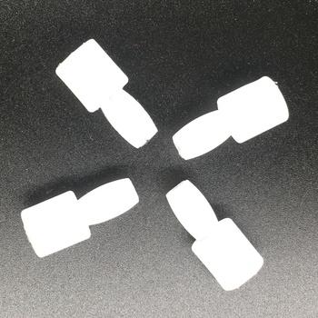 4 sztuk białe drzwi samochodu szyba okienna Pin Bolt dla VW Passat B5 B6 Bora Golf 4 MK4 5 MK5 Tiguan Touran Polo A4 Seat Leon Toledo Ibiza tanie i dobre opinie XTSCZX 2 9cm 2 9inch plastic Okno dźwigni i okna uzwojenia uchwyty Door Window Glass Pin 0 02kg 1 3cm 6N0 839 511 1999-2016