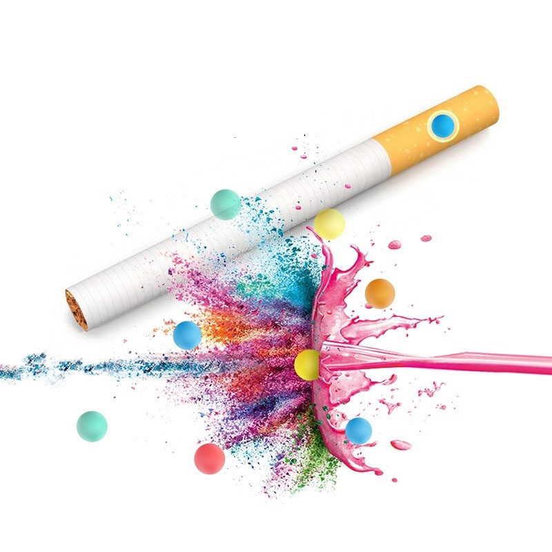 Cigarette Pops Fruit Mint Flavor Tobacco Filter Tips Smoking Accessories Men Gadgets 100pcs
