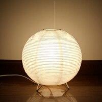 Japanischen Papier Schreibtisch Lampe Moderne Kreative Tisch Lampe Schlafzimmer Nacht Bett Lampe Dekorative Kleine Tisch Lampe Home Deco Led E14