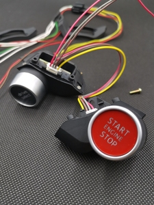 Image 4 - For VW MQB Steering Wheel Driving Select Mode TT RS R8 Engine Start Stop Switch Button