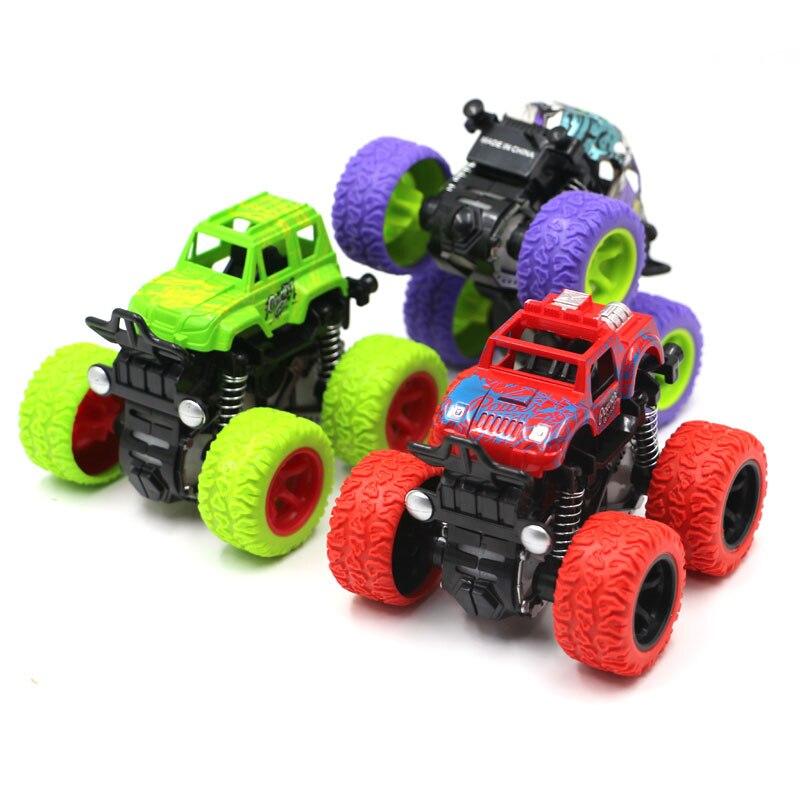 Inertia Shockproof Four-wheel Drive SUV Child Boy Simulation Vehicle Model Car Anti Crash Toy Car Baby Rc Car