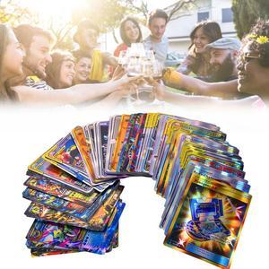 Image 5 - Jeu de cartes de 120 pièces, jouet avec une équipe de 30 étiquettes, 50 mega,19 entraîneurs, 1 énergie, 20 ultra bête