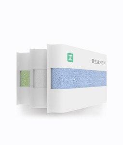 Image 2 - Serviette antibactérienne originale Youpin ZSH Polyegiene Young Series 100% coton 5 couleurs très absorbant bain visage petite serviette