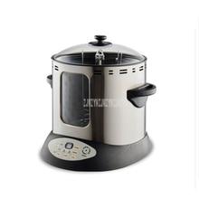 15л электрическая куриная Утка Жареная Бытовая духовка без дыма полностью автоматическая электрическая печь для жарки мяса жаровня печь для барбекю машина