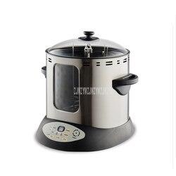 15L elektroniczna smażalnica do kurczaków kaczka pieczona piekarnik gospodarstwa domowego na rzecz środowisk wolnych od dymu tytoniowego pełna automatyczne ogrzewanie elektryczne mięso pieczenia grill maszyna do