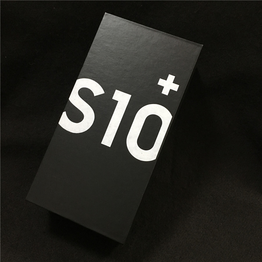 1pcs original s10 s10+ s10e phone empty box without accessories Instructions SIM card pin packaging for galaxy s10 plus s10e