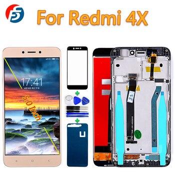 PANTALLA TÁCTIL PARA Xiaomi Redmi 4X LCD pantalla digitalizador montaje 100% probado 5,0 pulgadas 1280x720 marco para Xiaomi Redmi 4X LCD
