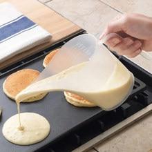 1000ML końcówka usta plastikowy dzbanek miarowy kubek z podziałką gotowanie kuchnia przybory piekarnicze