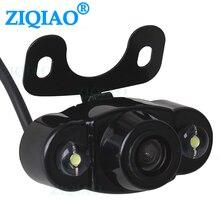 Автомобильная камера заднего вида для помощи при парковке, запасная камера, автомобильный 170 широкоугольный HD 2 светодиодный светильник, камера ночного видения