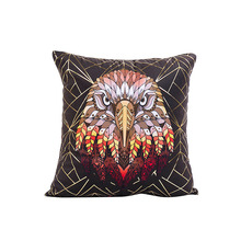 abstractive animal lion eagle pig pattern 45*45cm cushion cover no inner hot stamping colorful case for home dec X38
