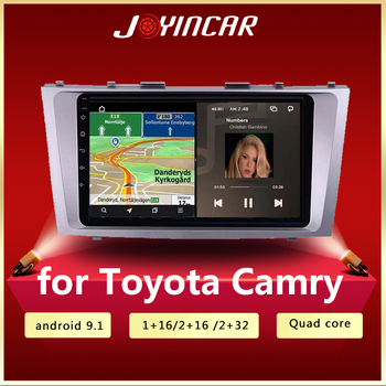 2G+32G Android Car Radio Multimedia Video Player Navigation GPS WiFi 2 din For Toyota Camry 40 50 2006 - 2011 no dvd image