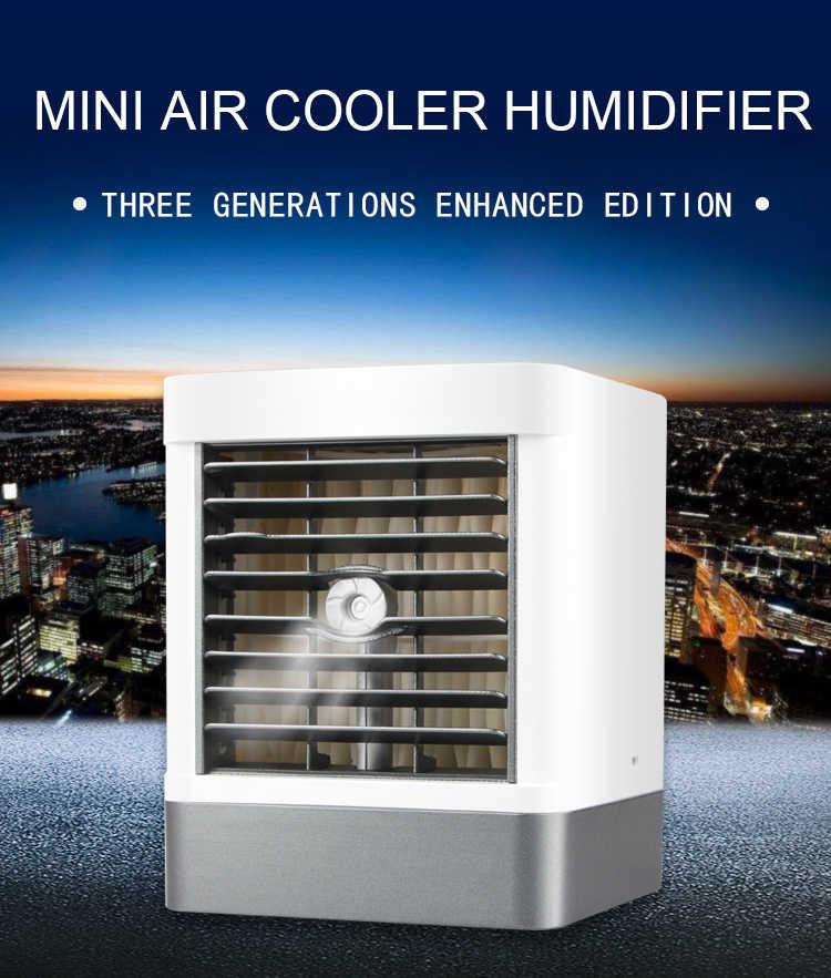 2020 ZAPAL الجديدة القادمة مروحة محمولة صغيرة برودة 3 سرعة سوبر كتم برودة صغيرة ventilador لمكتب سيارة المنزل دفتر كمبيوتر محمول
