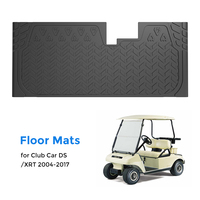 KEMIMOTO Custom Fit Mat Protective Rubber Floor Mat for Club Car DS and XRT Golf Carts 2004 2017 2005 2006 2007 2008 2009