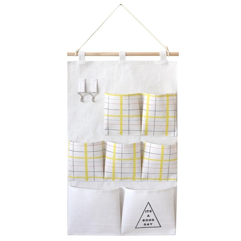Carttoon настенная подвесная сумка для хранения в скандинавском стиле, органайзер для детской кроватки, декор для детской комнаты, детская игрушка, сумка для хранения подгузников, Домашний Органайзер - Цвет: 7