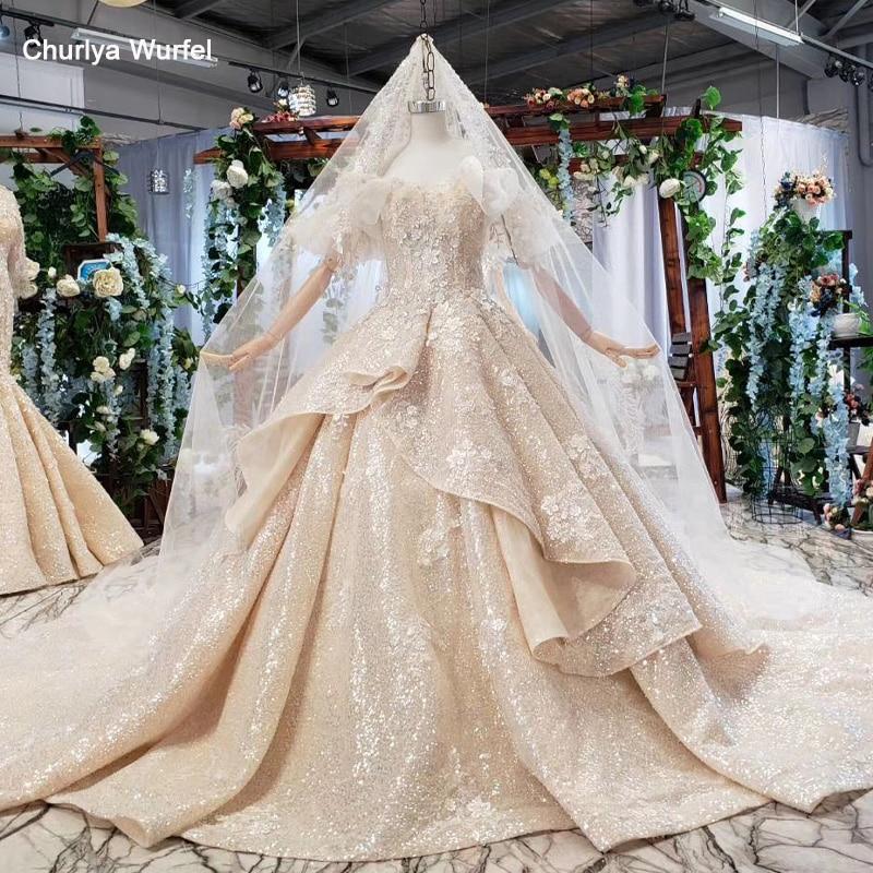 HTL774 Vintage Wedding Dress 2019 Ball Gown Princess Appliques Sweetheart Plus Size Bridal Gown With Veil 11.11 свадебное платье
