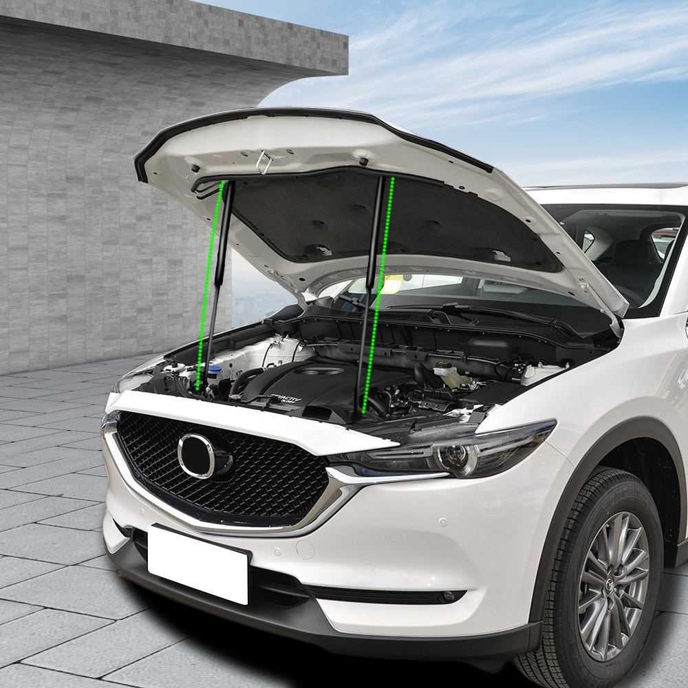 Daefar Front Engine Hood Support Rod Lift For <font><b>Mazda</b></font> <font><b>Cx</b></font>-<font><b>3</b></font> CX3 <font><b>CX</b></font> <font><b>3</b></font> <font><b>2017</b></font> - 2019 Car Hood Hydraulic Gas Jackstay Strut Bars image