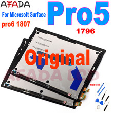 Original Lcd For Microsoft Surface Pro 5 1796 LCD Display Touch Digitizer Assembly LP123WQ1 For Microsoft Surface Pro5 Lcd PRO6