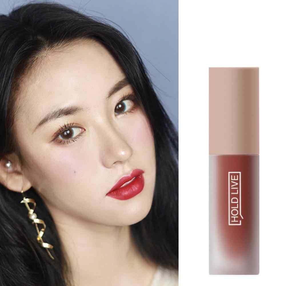 Houd Live Matte Lippenstift Professionele Lippen Makeup 5 Kleuren Party Schoonheid Stok Optionele Koreaanse Langdurige Lip Naakt A3A8