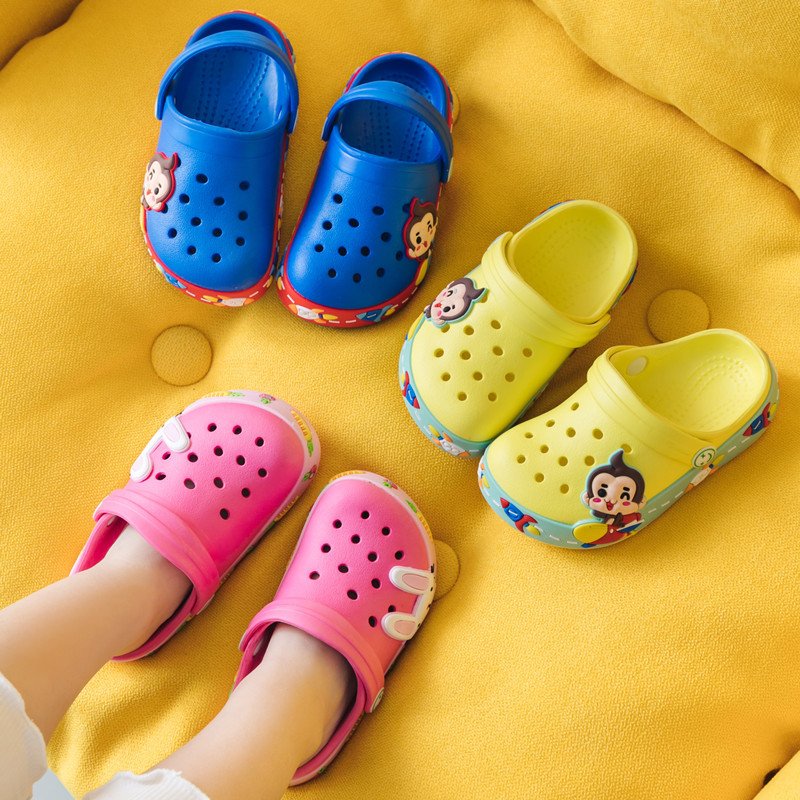 Kids Beach Shoes Summer Cartoon Slippers Boys Outdoor Flip Flops Soft Toddler Slippers Cute Girls House Shoes Pantufa Infantil