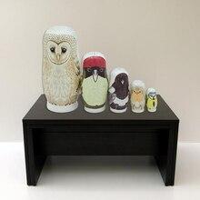 Matryoshka Russian Nesting Dolls Babushka Wooden Owl Stacking Dolls Hand Painting Figurine