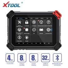 XTOOL herramienta de diagnóstico de sistema completo automotriz PS80, codificación ECU ps 80, actualización gratuita en línea