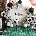 Футбольная Вечеринка, украшение для дня рождения мальчиков, воздушный шар для взрослых, спортивный тематический футбольный мяч для мальчик...