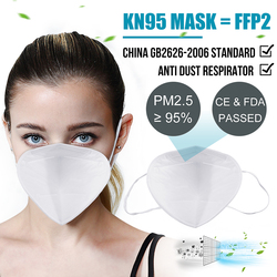 Fast Shipping Mask N95 Mouth Face Disposable Masks Filter for germ protection Thicken Filtraion Cotton Anti Dust pm2.5 Bacteria 5