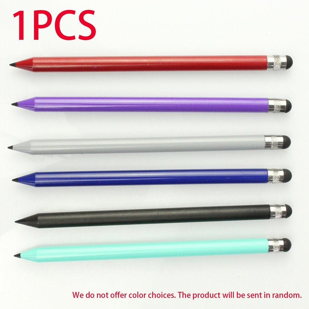 Portable Size Dual Use Mutilfuctional Touch Screen Pen Capacitive Stylus Pen Suitable For Tablets For IPad Mobile Phones