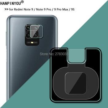 Para Redmi Note 9/ Note 9 Pro /9 Pro Max /9S Ultra delgado Protector de lente de cámara trasera cubierta de lente de vidrio templado suave