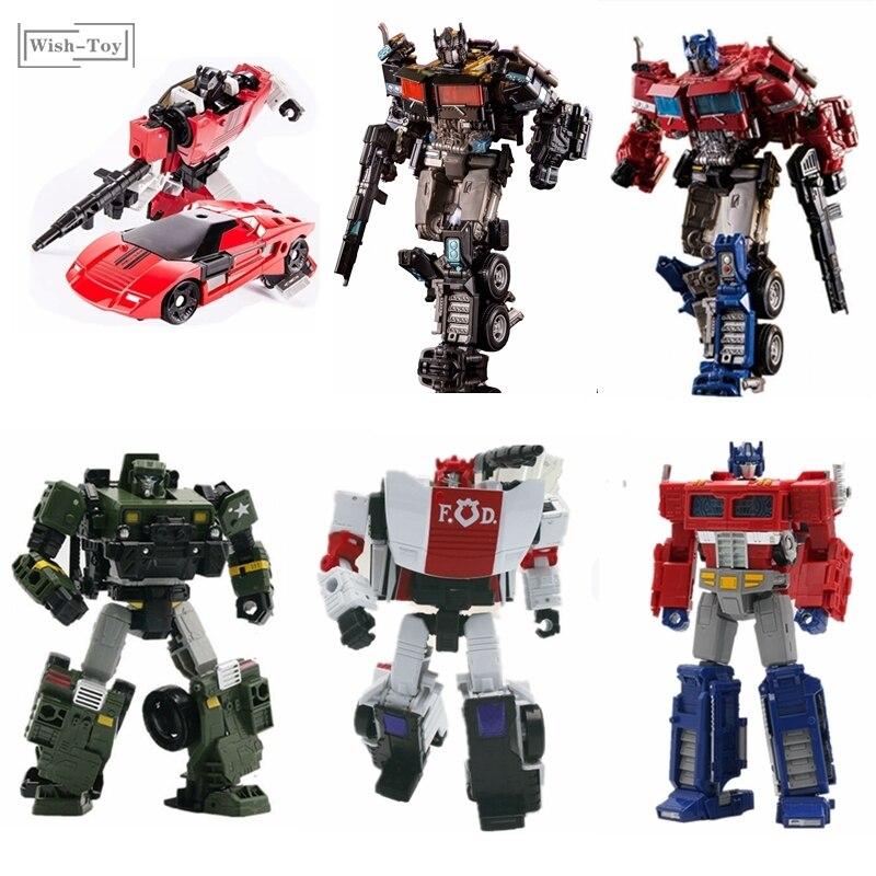 AOYI Transformation G1 Siege Series SS38 6001-4 Alloy Nemesis Prime Truck Dormant Version Sideswipe Action Figure Robot Toys