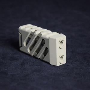 Image 5 - XPOWER VTAC CNC Grip Paintball Receiver M lok & Keymod For Air Guns AEG Tactical CS Sports  Wells M4 Gearbox