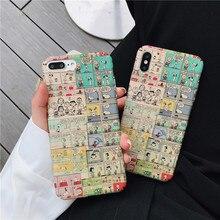 Meachy Cute Cartoon Hard Plastic Phone Case Cover For Huawei