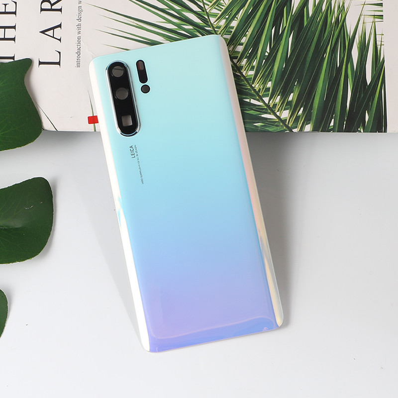 P30Pro 100% Original Housing For Huawei P30 Pro Glass Battery Cover Repair Back Door Phone Rear Case + Logo Camera Glass Glue